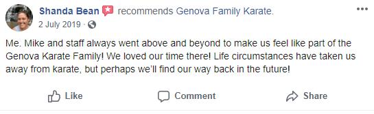 4, Genova Family Karate Elgin SC