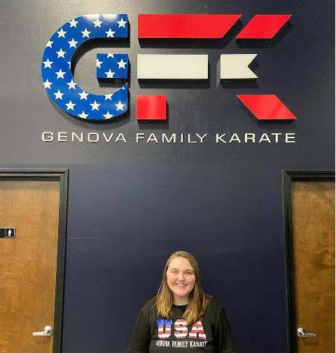 Caitlyn Carlo_Genova Family Karate Elgin